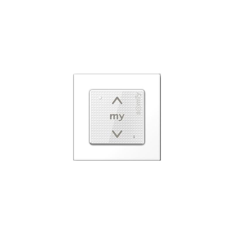 Point de commande Smoove sensitif 1 RTS + Cadre - Somfy