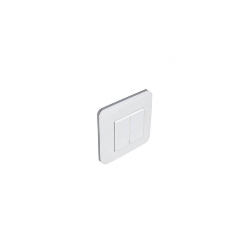 Interrupteur V.V. EnOcean blanc -2 touches - Ubiwizz