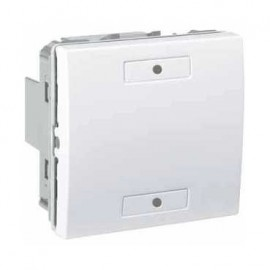 Unica KNX Blanc 2 bouton-poussoirs - Schneider Electric
