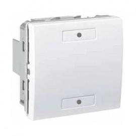 Unica KNX Blanc 2 bouton-poussoirs - Schneider Electric