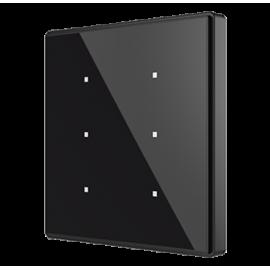 Square TMD - Interrupteur capacitif KNX - 6 boutons et sonde de température - Zennio - ZVI-SQTMD6