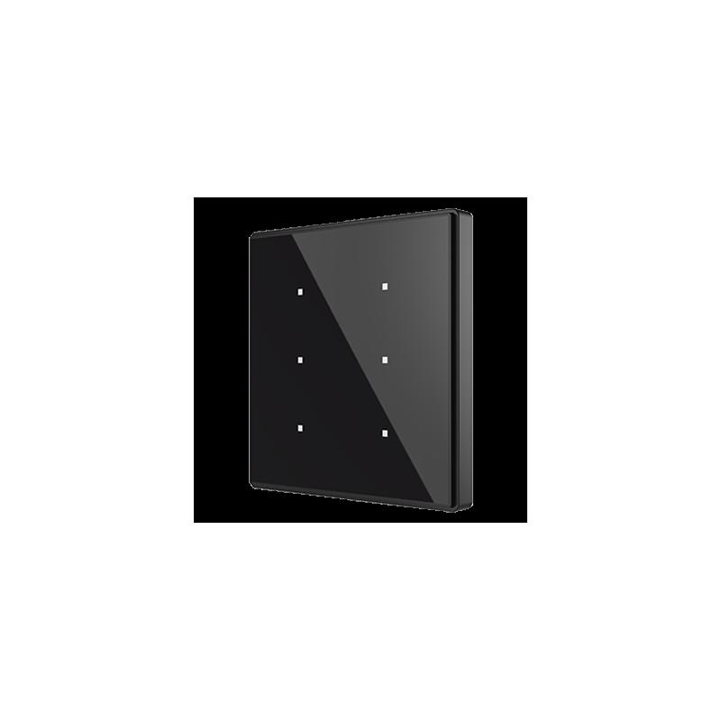 Square TMD - Interrupteur capacitif KNX - 6 boutons et sonde de température - Zennio