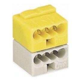 Connecteur KNX. WAGO 243-212 jaune/gris-clair