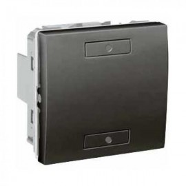 Unica KNX Graphite 2 bouton-poussoirs - Schneider Electric