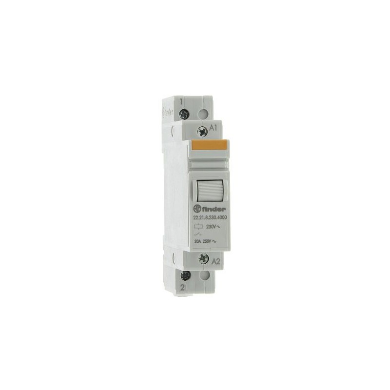 Relais modulaire 1N/O 250VAC 22.21.8.230.4000 - Finder