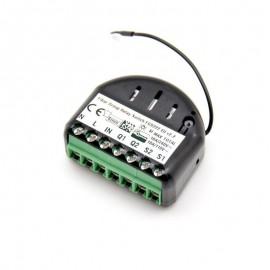 Micromodule commutateur double ON/OFF Z-Wave FGS-222 FIBARO