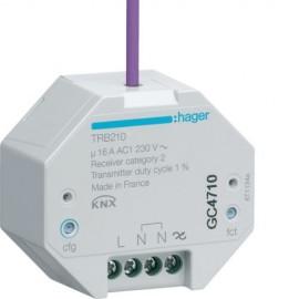 TRB210 - 1 Sortie varia. 200W à enc. KNX radio QL - Hager