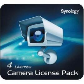 Pack licence 4 caméras supplémentaires pour Surveillance Station - Synology