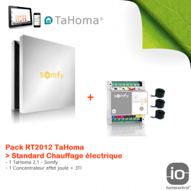 Pack RT2012 TaHoma Standard Chauffage électrique - Somfy - 1811343