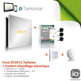 Pack RT2012 TaHoma Confort Chauffage électrique - Somfy - 1811344