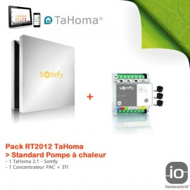 Pack RT2012 TaHoma Standard Pompe à chaleur - Somfy - 1811345+CFP