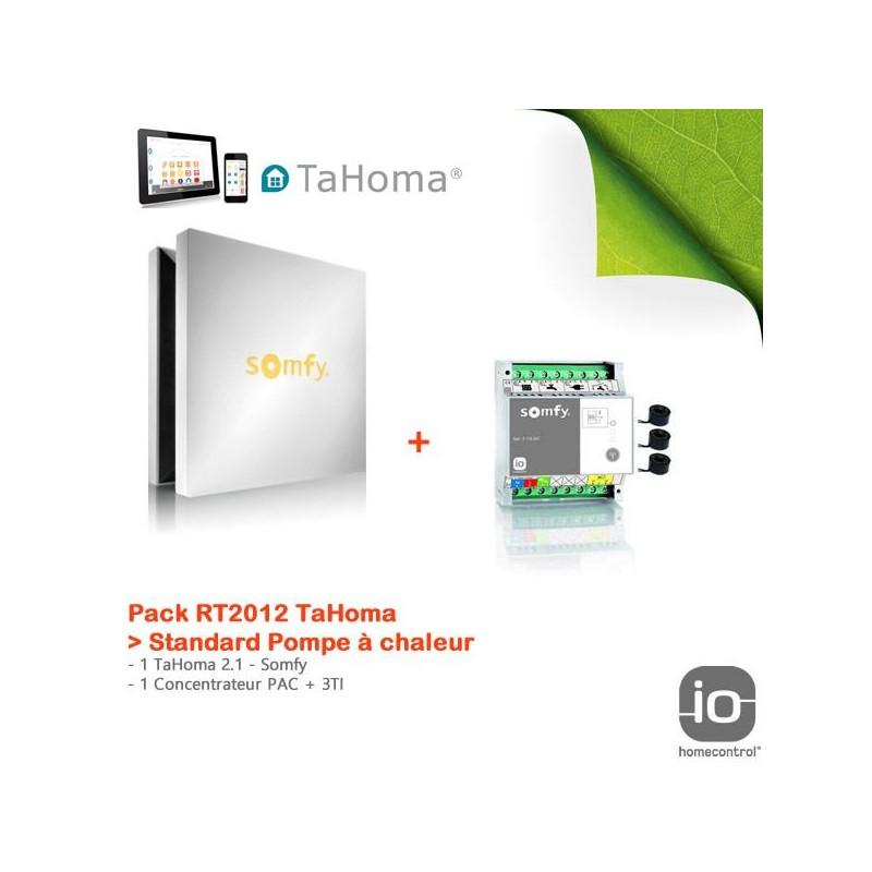 Pack RT2012 TaHoma Standard Pompe à chaleur - Somfy - 1811345