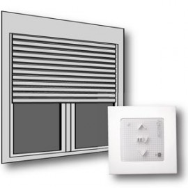 Kit de modernisation IO bloc baie / porte-fenêtre - Somfy - 1030105
