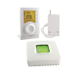 PACK TYBOX 137 CONNECTE - Thermostat programmable connecté X3D - Delta Dore