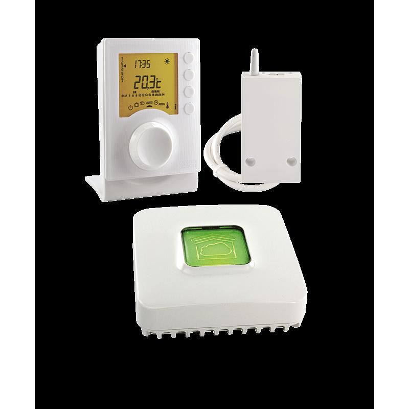 PACK TYBOX 137 CONNECTE - Thermostat programmable connecté X3D - Delta Dore