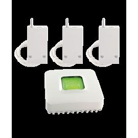PACK RF6600 FP CONNECTE - Pack chauffages fil pilote connectés X3D - Delta Dore