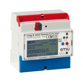 Module compteurs d'énergie 3 voies  (3-ph), 0,25-5(75) EZ-EMU-DSTD-D-REG-FW - KNX -  Lingg & Janke