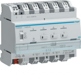 TXA663A - Module KNX 3 sorties variation 300W / NE - Hager