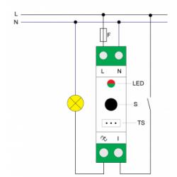 ZMNHSD1 - Variateur Z-Wave Plus sur rail DIN - QUBINO