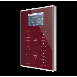 TMD-Display View - Contrôleur d'ambiances capacitif KNX- Cadre polycarbonate personnalisé - Zennio - ZVI-TMDV-P