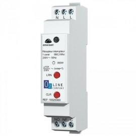 Récepteur rail DIN 10A - EnOcean - TRIO2SYS - T2S10020069
