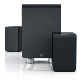 DUO - Pack 2.1 pour PowerNode 2 - Bluesound
