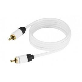 SUB-1 - Câble audio avec fiches RCA - caissons de graves - Real Câble