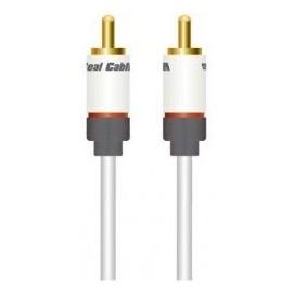 SUB 1 - Câble audio avec fiches RCA - Real Câble