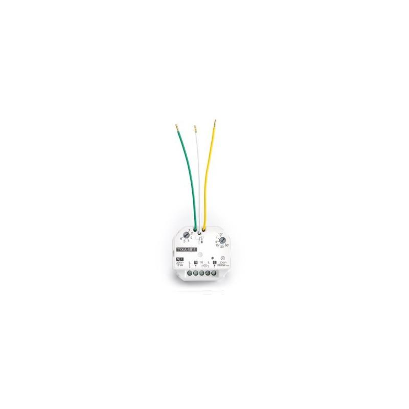 Micromodule récepteur radio encastré 10A - Delta Dore - 6351107