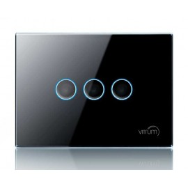 Interrupteur capacitif Vitrum I EU Dimmer KNX - TECH Collection - Vitrum