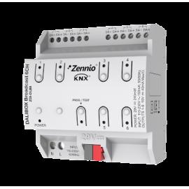 DALIBOX Broadcast 6CH Interface KNX - DALI broadcast jusqu'à 6 canaux de jusqu'à 20 ballast par canal - Zennio - ZDI-DLB6