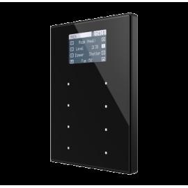 TMD-Display View - Contrôleur d'ambiances capacitif KNX- Cadre aluminium - Zennio - ZVI-TMDV-A