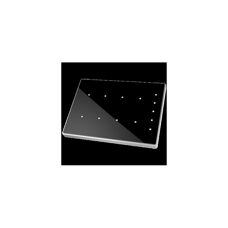 Touch-MyDesign Plus - Interrupteur capacitif KNX - Thermostat - Cadre polycarbonate - 4 boutons - Zennio - ZVI-TMDP4-P