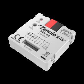 BIN 44 - Interface universelle avec 4 entrées binaires et 4 sorties LED - Zennio - ZIO-BIN44