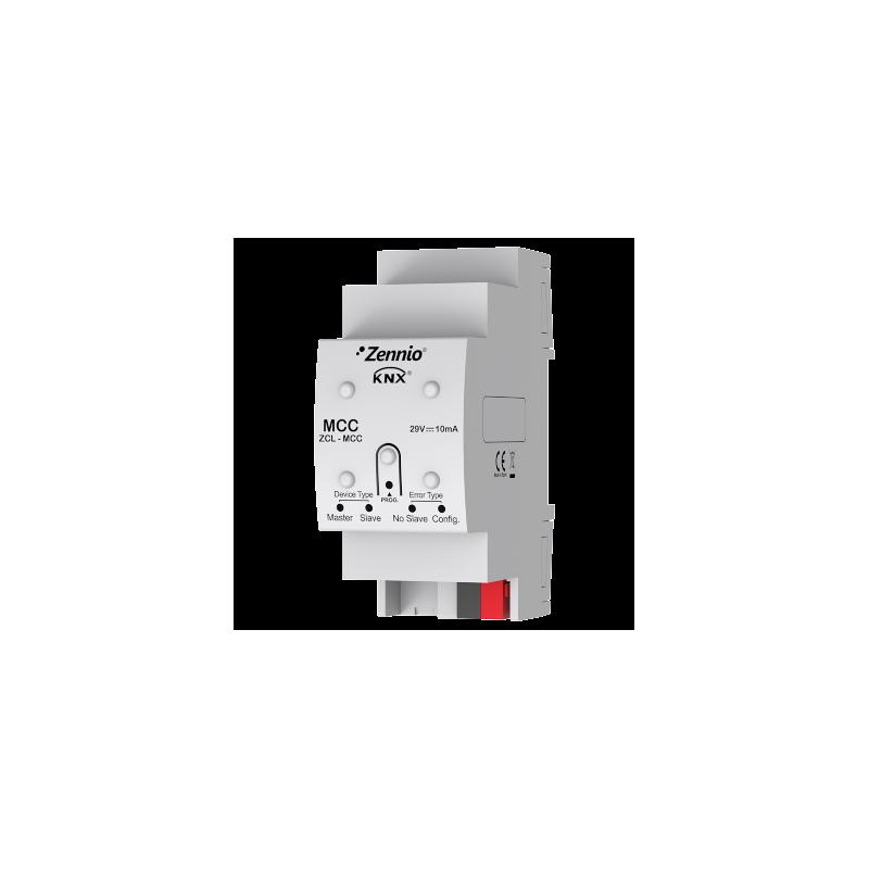 MCC - Contrôleur de climat multi-chambres - Zennio - ZCL-MCC