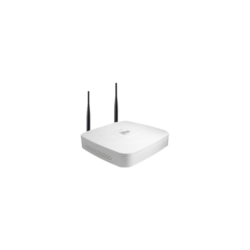 Enregistreur réseau - NVR - 4 voies - Wi-Fi - 5Mp- 1HDD - DAHUA - DH-NVR4104W
