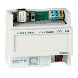 FacilityWeb network coupler - NT80NK-FW-graphic - KNX - Lingg & Janke
