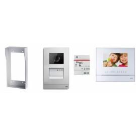 Kit ABB Welcome M portier vidéo mains libres avec passerelle IP 3.0 pour smartphone - ABB