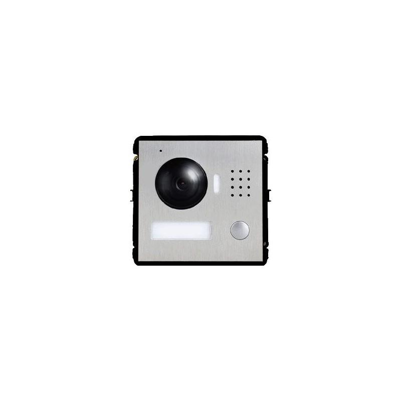 """KIT Portier Vidéo IP connecté sur Smartphone - Badges - 1 moniteur 7"""" - DAHUA"""