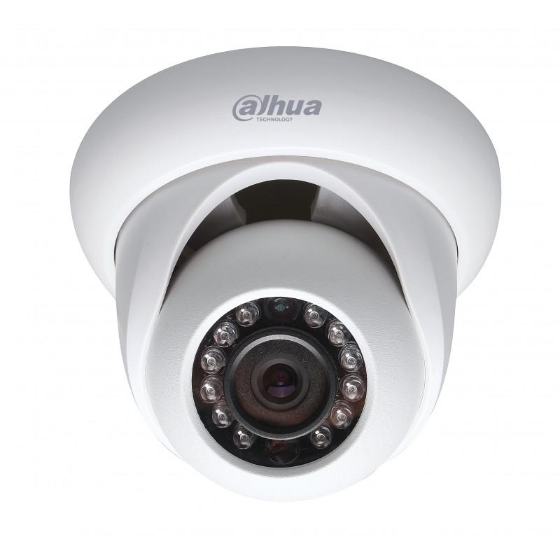 Caméra Dôme IP - 2Mp - IR20m  -  PoE - IP66 - DAHUA - DH-IPC-HDW1200S