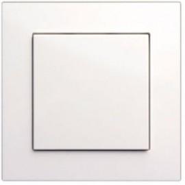 Enjoliveur Bouton-poussoir neutre - blanc pur - FL-1 -  Lingg & Janke
