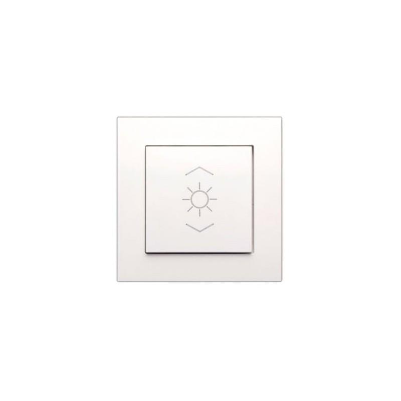 Enjoliveur 1 touche lumière - blanc pur - FL-1-L -  Lingg & Janke