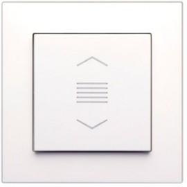 Enjoliveur 1 touche VR - blanc pur - FL-1-J - Lingg & Janke