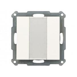 Poussoir KNX 2 touches - MDT- BE-TA5502.01