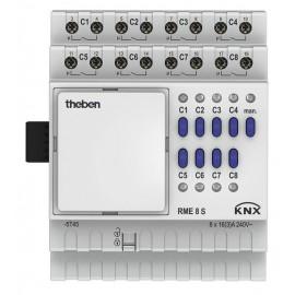 Actionneur 8 canaux MIX2 - RME 8 S KNX (sans BCU) - Theben - 4930225