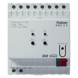Unité de commande 1-10 V à 2 canaux MIX - SMG 2 S KNX - Theben - 4910273