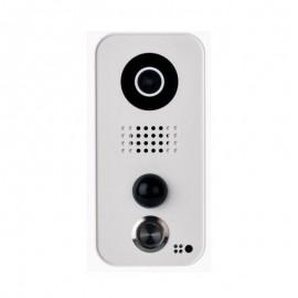 Portier vidéo connecté D101 Blanc - Polycarbonate - DoorBird