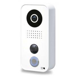 Portier vidéo connecté IP - Blanc - Polycarbonate - DoorBird - D101