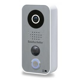 Face acier inoxydable personnalisée pour Portier vidéo connecté IP D10x - DoorBird - F103