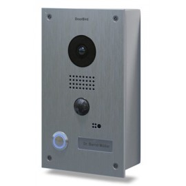 Portier vidéo connecté IP - acier inoxydable brossé - saillie - DoorBird - D201